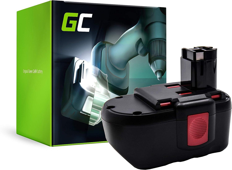 GC® (3Ah 24V Ni-MH celdas) Batería para Bosch GBH 24V de Herramienta Eléctrica