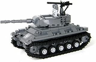 Battle Brick US Army M24 Chaffee Tank World War 2 Hand Sorted Custom Set