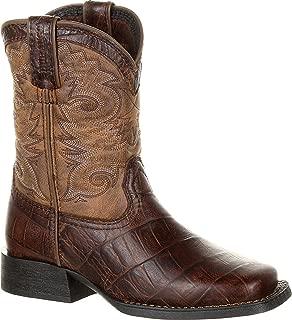 square toe gator boots