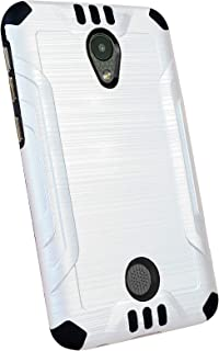 DALUX Combat Phone Case Compatible with Coolpad Legacy S - White/Black