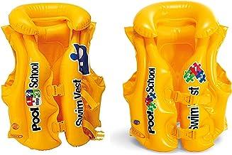 Intex Deluxe Pool Swim Vest, Yellow [58660]