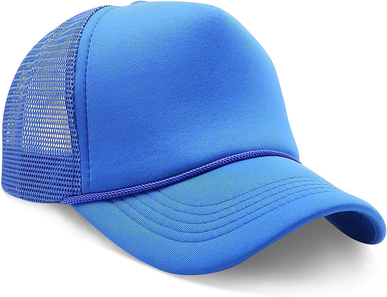 StashCart Trucker Hat – Adjustable Trucker Hat for Men and Women, Mesh Baseball Cap