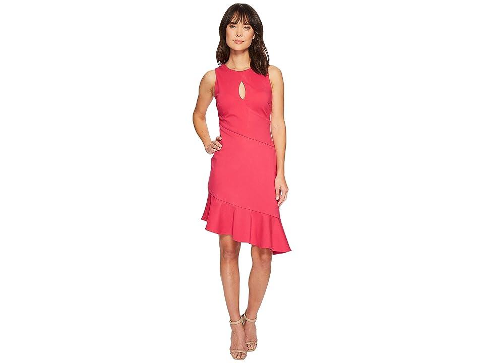 Adelyn Rae Corinne Dress (Fuchsia) Women