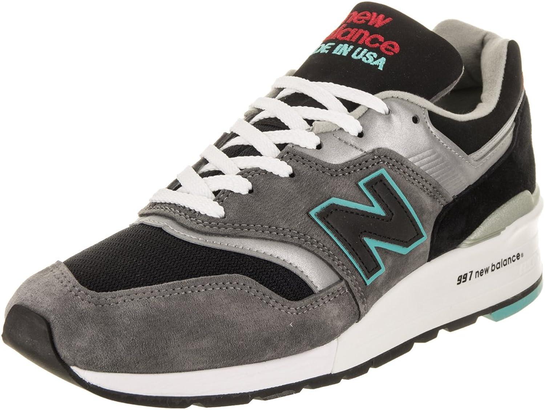 NYA BALANS skor Män 997 grå grå grå  svart mocka skor för män  arenan