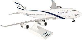 Daron Skymarks El Al 747-400 Airplane Model Building Kit with Gear, 1/200-Scale