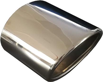 Autohobby 420D Auspuffblende Auspuff Universell Schalldampf Endrohr Blende Edelstahl bis 57mm Chrom A B C G H J CC 3 4 5 6 7