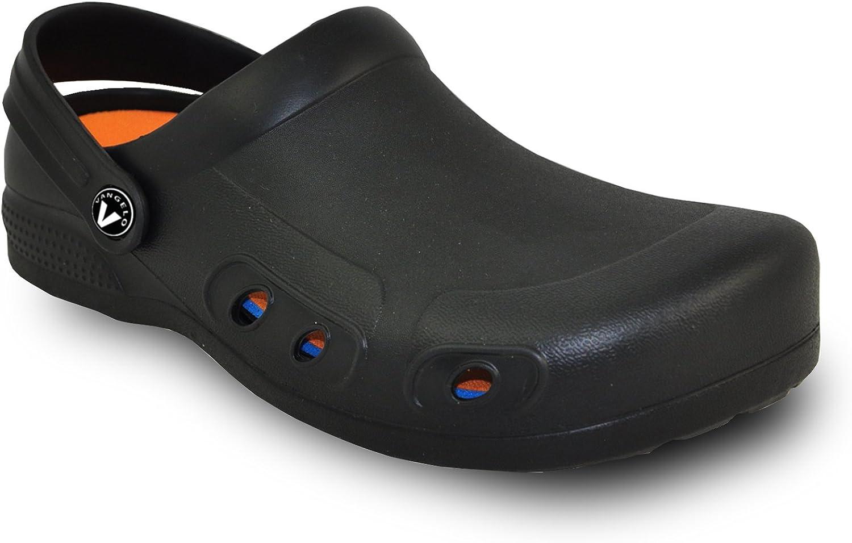 VANGELO Professional Slip Resistant Clog Unisex Work shoes Chef shoes Nurse shoes Ritz