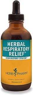 Herb Pharm Herbal Respiratory Relief Liquid Formula with Wild Cherry Liquid Extract - 4 Ounce