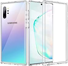 TiMOVO Cover Designed for Galaxy Note 10 Plus Case/Galaxy Note 10+ 5G Case, Slim PC Hard Panel TPU Bumper Shockproof Anti-Scratch Case for Samsung Galaxy Note 10 Plus/10+ 5G 6.8 inch 2019 - Clear