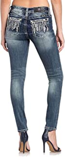 Women's Feather Me Up Mid-Rise Skinny Jeans