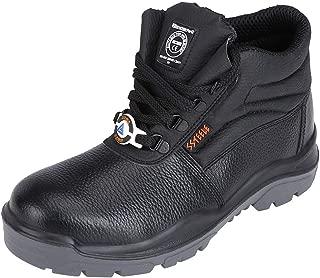 ACME Boxylic Leather Safety Shoes Black (Size - ACME003_42)