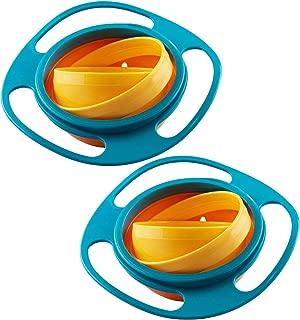 WENTS Edelstahl Baby Sch/üssel Wasserinjektion Bowl Learning Sch/üssel W/ärmeempfindliche Baby Sicherheitsl/öffel Gabel Baby Saugnapf mit Deckel
