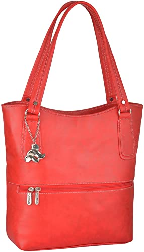 Fostelo Women's Sarah Handbag (Red) (FSB-873)