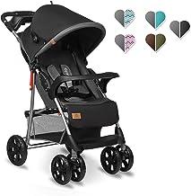 Aohuada Kinderwagen 4-Rad Faltbarer Reisekinderwagen mit Sonnenschirme Sicherer Neugeborener Sportwagen Babywagen Baby Faltbar Baby-Kinderwagen Sportbuggy