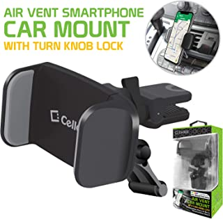 Cellet Air Vent Mount with 360 Degree Rotation Compatible Xs/Xr/Xs Max/X/8/7/65/ Samsung Note 9/8/5/5 Galaxy S9/S9 Plus/S9/S8/Plus/S7/S6 LG Q7+/Stylo 4/Q Stylus/V35 ThinQ/V30/G6/G5/ and More