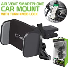 Cellet Air Vent Mount with 360 Degree Rotation and Tightening Knob Holder Compatible to AApple iPhone Xr,Xs Max,Xs,X,SE,8 Plus,8,7 Plus,7,6S Plus,6S,6 Plus,6,5S,5C,5,4S,4,3GS,3G,iPod Touch,iPod Nano