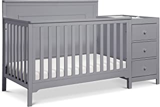 Carter's by DaVinci Dakota 4-in-1 Crib and Changer Combo in Grey   Greenguard Gold Certified