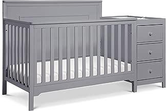 Carter's by DaVinci Dakota 4-in-1 Crib and Changer Combo in Grey | Greenguard Gold Certified
