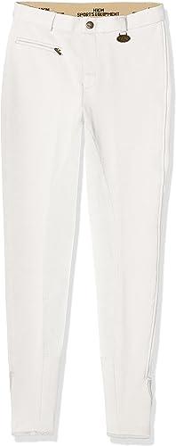 HKM Pantalon d'équitation Extensible pour Femme - Longueur 3 4
