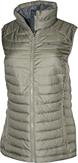 Columbia Women's White Out Puffer Omni Heat Full Zip Insulated Vest