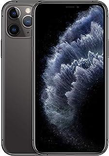 ابل ايفون 11 برو مع فيس تايم - 64 جيجا، رام 4 جيجا، الجيل الرابع ال تي اي، رمادي، ثنائي شريحة الاتصال