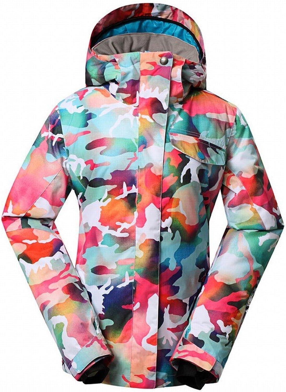 Stts Outdoor Damen Powder Camouflage Ski Anzüge Winddicht Wasserdicht Tragen Weibliche Modelle Anden,EIN,XS