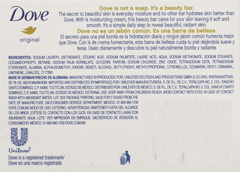 White Moisturizing Cream Beauty Bar Dove 3.15 oz Soap(3 pack)