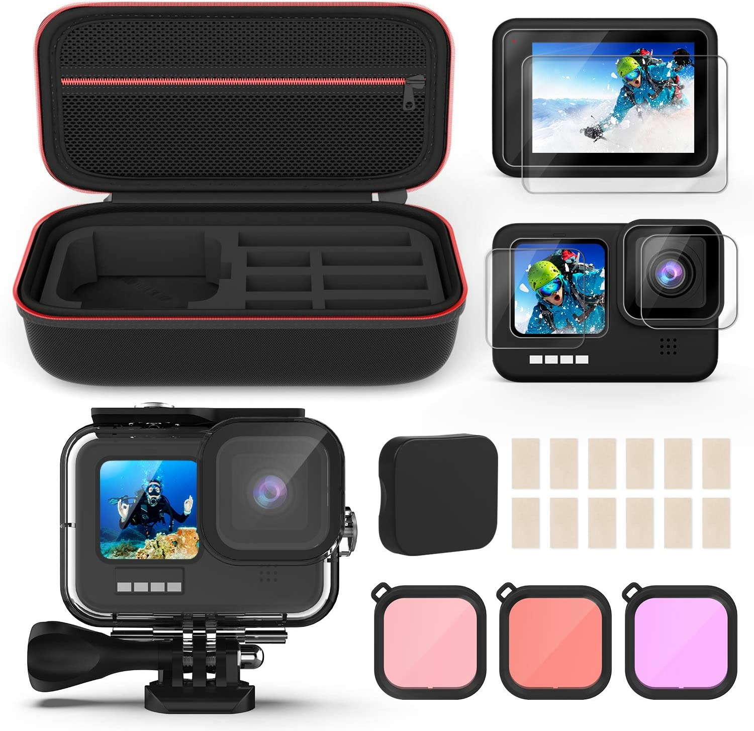 Underwater Waterproof Housing Case Compatible 9 GoPro Hero Albuquerque Mall with Fixed price for sale