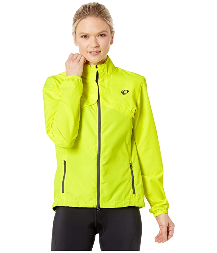 Pearl Izumi  Quest Barrier Convertible Jacket (Screaming YellowithTurbulence) Womens Clothing