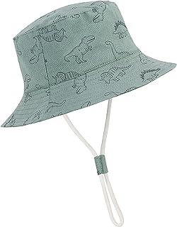 Durio Beach Baby Sun Hat UPF 50+ Sun Protection Wide Brim Summer Baby Boy Bucket Hats Cute Toddler Sun Hats for Girl