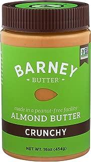 Barney Almond Butter, Crunchy, Paleo Friendly, KETO, Non-GMO, Skin-Free, 16 Ounce