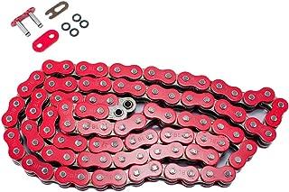 520 Pitch 114 Links Red O-Ring Chain for Kawasaki EX650 Ninja 650R 2006 2007 2008 2009 2010 2011 2012