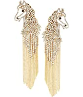 Kate Spade New York - Wild Ones Horse Statement Earrings