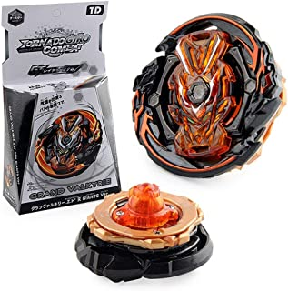 INUO Burst gyro Toy, Fourth-Generation GT Series Limited Edition, Boxed Alloy gyro, with Ruler Launcher