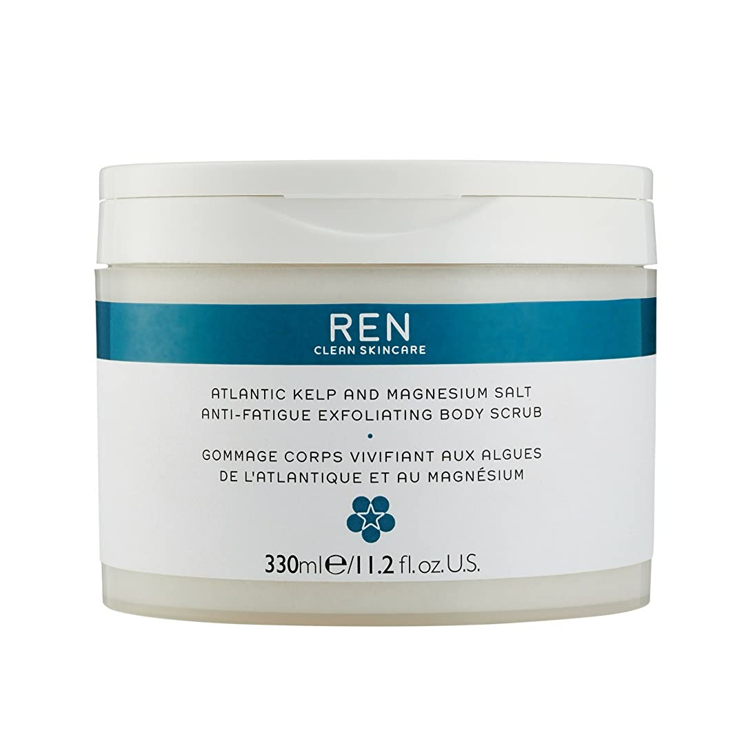 出撃者対称奇跡的なREN - Atlantic Kelp And Magnesium Salt Anti-Fatigue Exfoliating Body Scrub