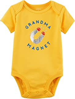Carter's Baby Boys' Grandma Magnet Collectible Bodysuit