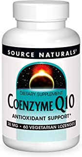 Source Natural Coenzyme Q10 Antioxidant Support 30 mg For Heart, Brain, Immunity, & Liver Support - 60 Lozenges