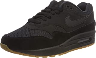 Air Max 1 Mens Trainers AH8145 Sneakers Shoes (UK 6 US 7 EU 40, Black Black Black 007)