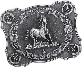 Hommes Américains Planant Chevaux Boucle De Ceinture Western Cowboy Jeans