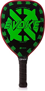 Onix Graphite Evoke Tear Drop Pickleball Paddle Features Tear Drop Shape, Polypropylene Core, and Graphite Face