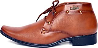 T-Rock Men's Synthetic Leather Formal Shoes