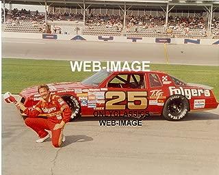 OnlyClassics Tim Richmond Daytona Speedway FOLGERS Coffee Stock CAR NASCAR AUTO Racing Photo