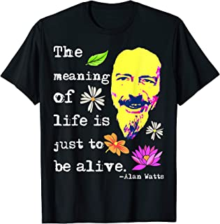 The Meaning Of Life Is Just To Be Alive   Alan Watts