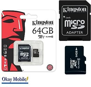Original Kingston 64GB Micro SDHC Memory Card For Nokia Lumia 630  635...