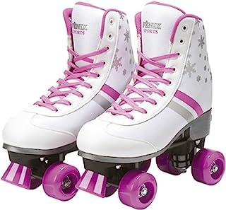 Patins Quatro Rodas Roller Skate, Fenix, Branco, 35-38