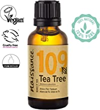 Naissance Tea Tree Essential Oil (#109) 30ml - Pure, Natural, Cruelty Free, Vegan & Undiluted