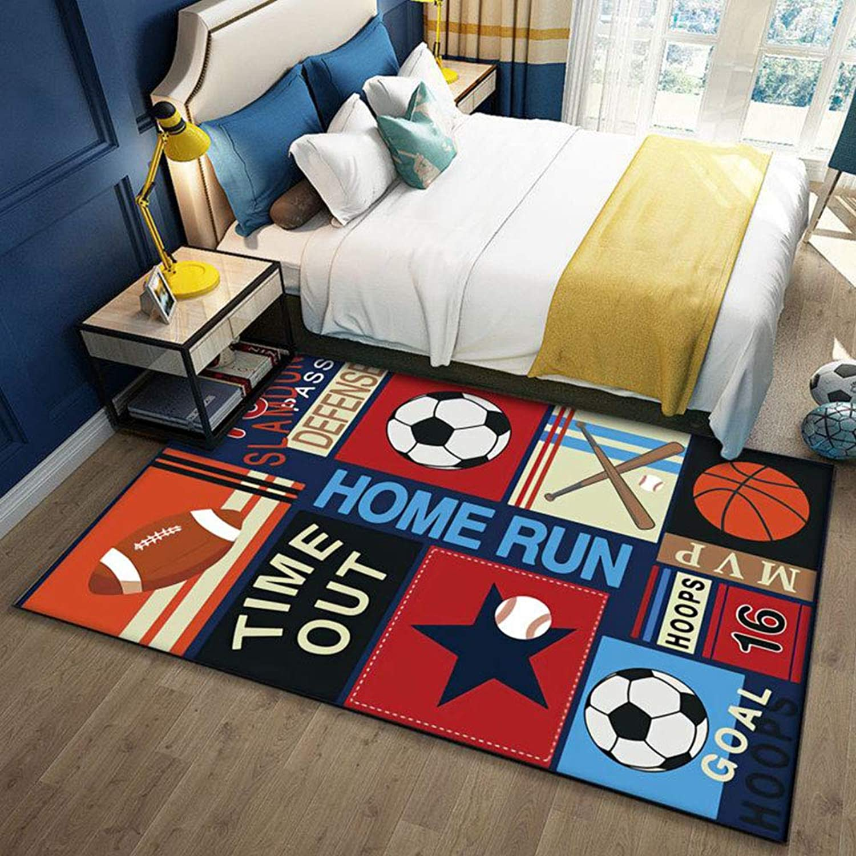 tienda en linea WMWZ WMWZ WMWZ Kids Niños Extra Gran Alfombra de Juego, Baby gateando alfombras, Seguridad Doble Cochea alfombras de Piso de plástico Impermeable para Niños Niños pequeños,D,300x200cm  genuina alta calidad