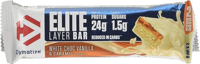 Dymatize Nutrition Nutrition Elite Layer Bar 60 g White Choc Vanilla Caramel Estimated Price : £ 37,70