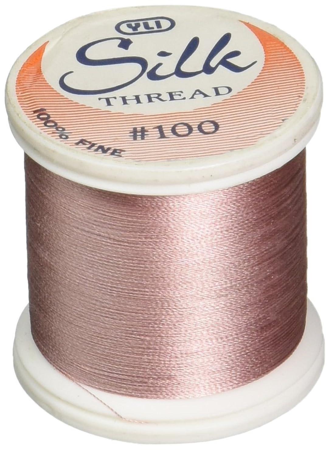 YLI Corporation Silk Thread 100 Weight 218 Yd. Spool: 202-10-257