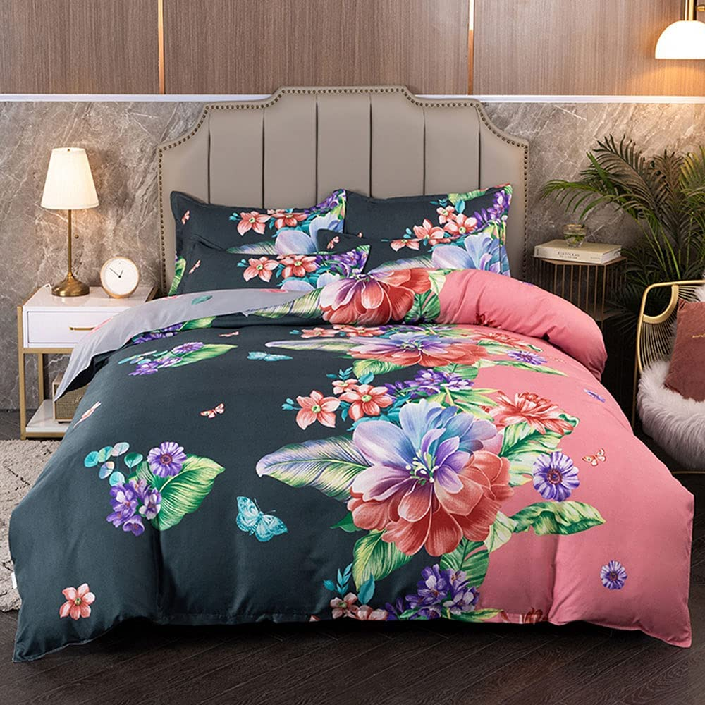 Anjos Chinese Butterfly Flowers Pastoral Set Cover Bedding Max 59% OFF Max 63% OFF Duvet